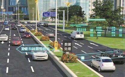 红绿灯实时调整时长 路灯发射WIFI 深圳首条智慧道路8个月后亮相