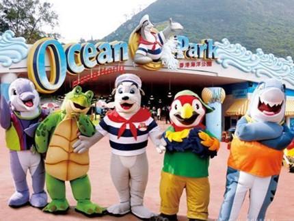 香港海洋公园把握商机 推大桥优惠套票