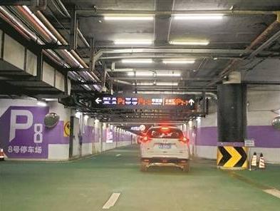 花城广场周边行车有捷径,亲测通行时间节省3至5分钟