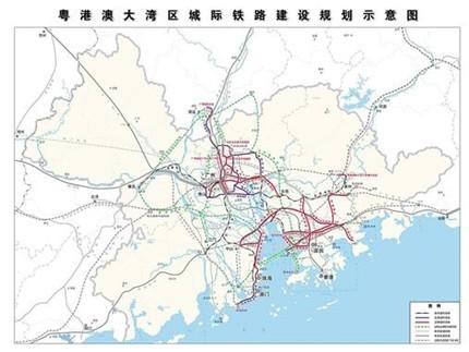 13条城际铁路5个枢纽项目 打造轨道上的大湾区