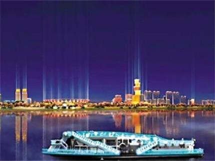 佛山版珠江夜游9月30日首航 带你一览潭洲水道夜景