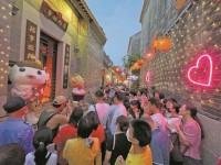 """""""五一""""国内旅游市场强势复苏 广州重庆长沙成夜游代表城市"""